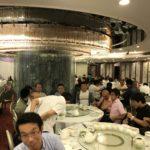 1枚目が千葉銀行香港支店の、方との夕食